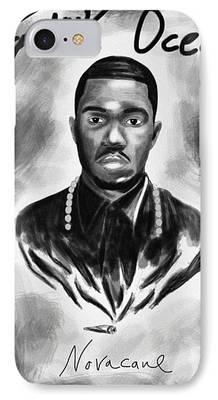 Drawings Of Frank Ocean iPhone Cases