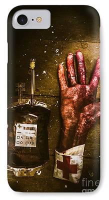 Hematology iPhone Cases