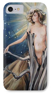 Gaia Paintings iPhone Cases