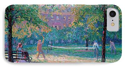 Park Benches iPhone Cases