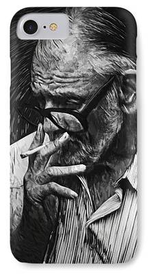 George Romero iPhone Cases