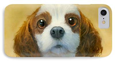 Dog Portrait iPhone Cases