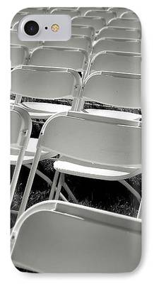 Empty Chairs iPhone Cases