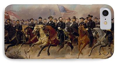 Civil War Generals iPhone Cases