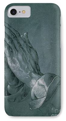 Prayer Drawings iPhone Cases