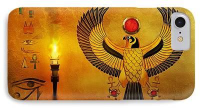 Horus Digital Art iPhone Cases