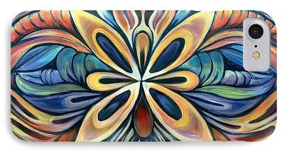 Organic Paintings iPhone Cases