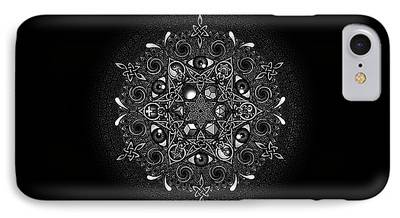 Celtic Spiral iPhone Cases