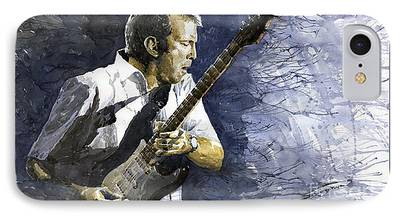 Eric Clapton Paintings iPhone Cases