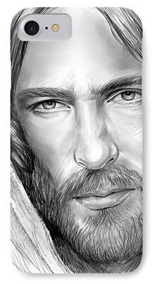 Son Of God Drawings iPhone Cases