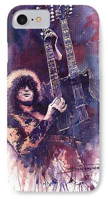 Jimmy Page iPhone Cases