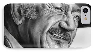 True Grit Drawings iPhone Cases