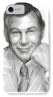 Johnny Carson iPhone 7 Cases