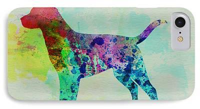 Labrador Retriever Art iPhone Cases
