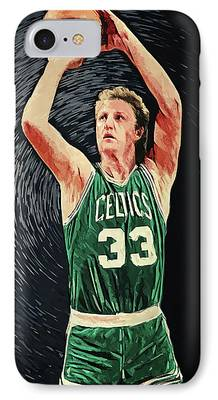 Larry Bird iPhone Cases