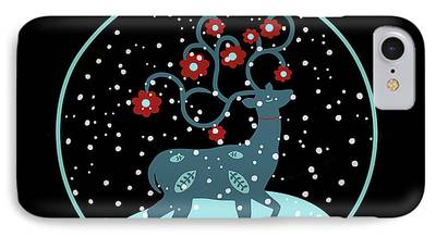 Snow Flake iPhone Cases