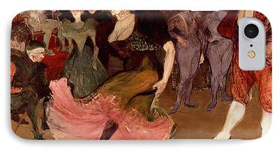 Dance Floor Paintings iPhone Cases