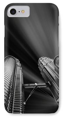 Built Structure Mixed Media iPhone Cases