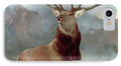 Scotland Paintings iPhone Cases