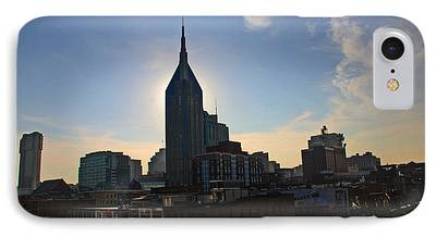 Skyline Of Nashville iPhone Cases