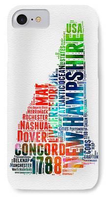 Concord Digital Art iPhone Cases