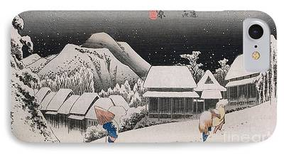 Japan House iPhone Cases