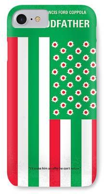 Robert De Niro Digital Art iPhone Cases