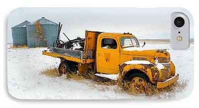 Old Trucks Photographs iPhone Cases