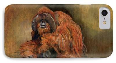 Orangutan iPhone 7 Cases