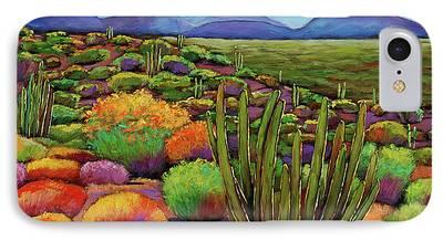 Desert Paintings iPhone Cases
