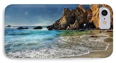 Coast Hwy Ca iPhone Cases