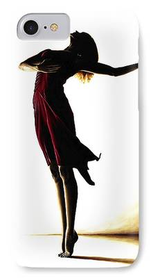Ballet Paintings iPhone Cases