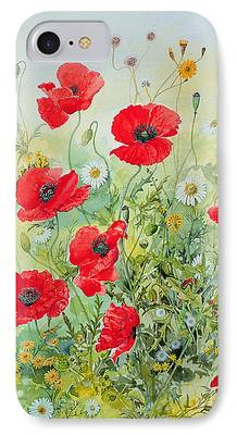Floral Gardens iPhone Cases