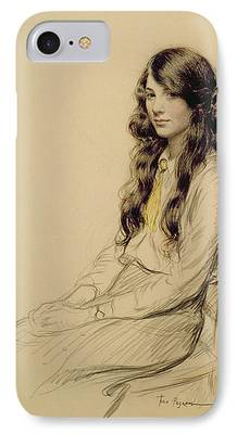 People Drawings iPhone Cases