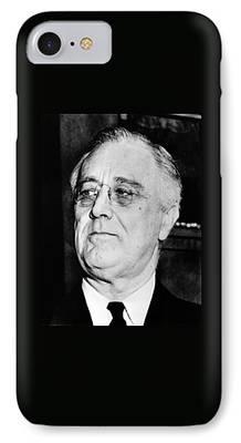 Franklin Roosevelt iPhone Cases