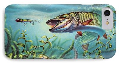 Tiger Musky iPhone Cases
