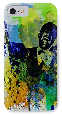 Frank Sinatra Paintings iPhone Cases