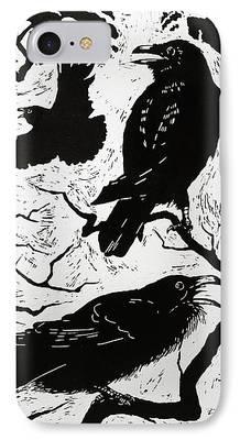 Raven iPhone 7 Cases