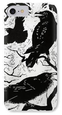 Raven iPhone Cases