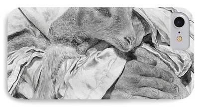 Jyvonne Inman Drawings iPhone Cases