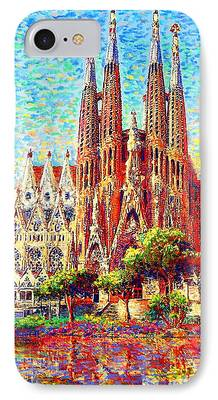 Facade Paintings iPhone Cases