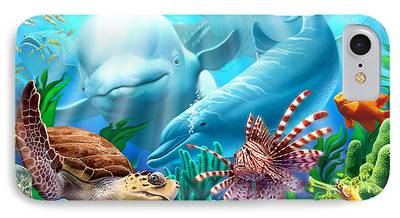 Sting Ray iPhone Cases