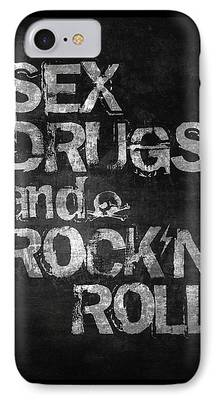 Rock And Roll iPhone 7 Cases
