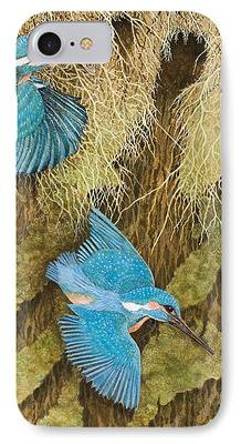 Kingfisher iPhone 7 Cases