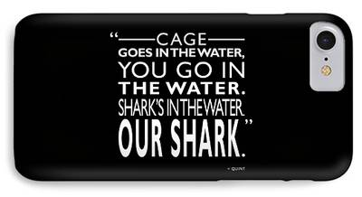 Shark Photographs iPhone Cases