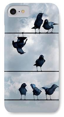 Crow iPhone 7 Cases