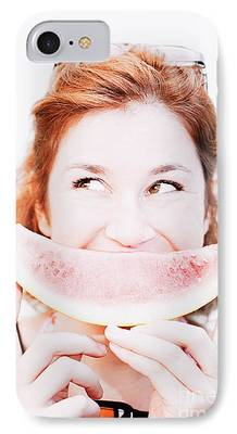 Watermelon iPhone Cases