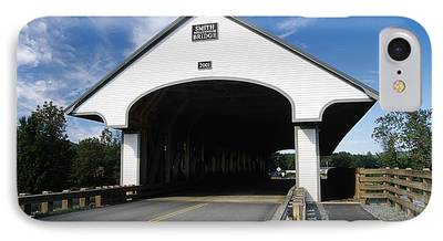 Covered Bridge iPhone Cases
