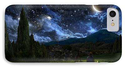 Stars Digital Art iPhone Cases
