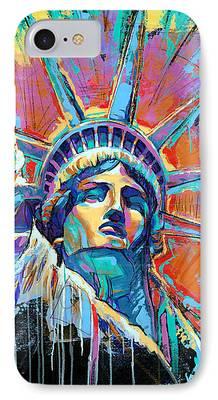 Statue iPhone Cases